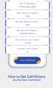 How to Get Call History of Others : Call Detail 5