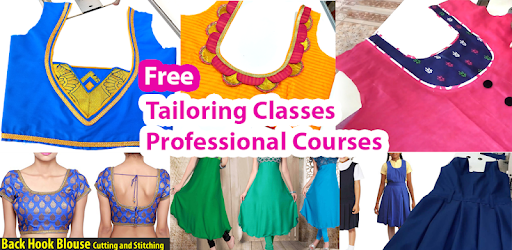 Tailoring Classes Videos in Tamil Cutting Stitch - Apps on
