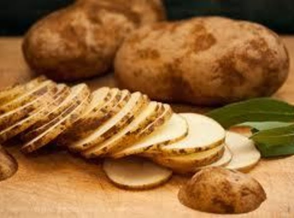 PREPARE THE POTATOES: Scrub the potatoes under cool, running water and then pat dry...