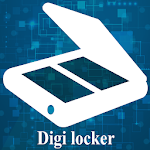 Digital Locker Doc Scanner Icon