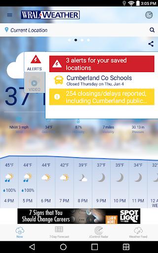 WRAL Weather screenshot 16