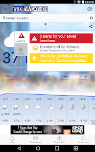 WRAL Weather APK image thumbnail 15
