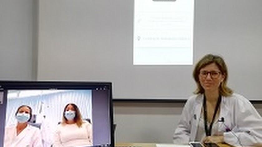 La directora de la Unidad de Farmacia de la Agencia Pública Sanitaria Poniente, María Ángeles Castro.