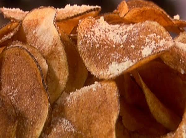 Paula Deen's Parmesan And Garlic Potato Chips Recipe