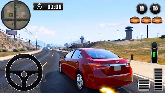 City Driving Toyota Car Simulator - náhled
