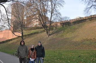 Photo: Zaparkovali jsme u Královského hradu Wawelu a vydali se pěšky k Továrně Oskara Schindlera.
