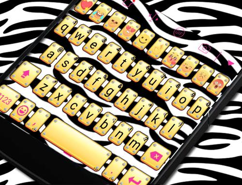 玩免費遊戲APP|下載Zebra Skin Eva Keyboard -Gifs app不用錢|硬是要APP