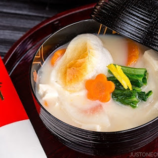 Ozoni (Zoni) - Japanese New Year Mochi Soup