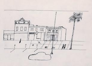 """Photo: Saul Steinberg, Senza titolo, inchiostro, cm 22x28. Riprodotto in """"Piccolo diario americano"""". Copyright © Saul Steinberg Foundation"""