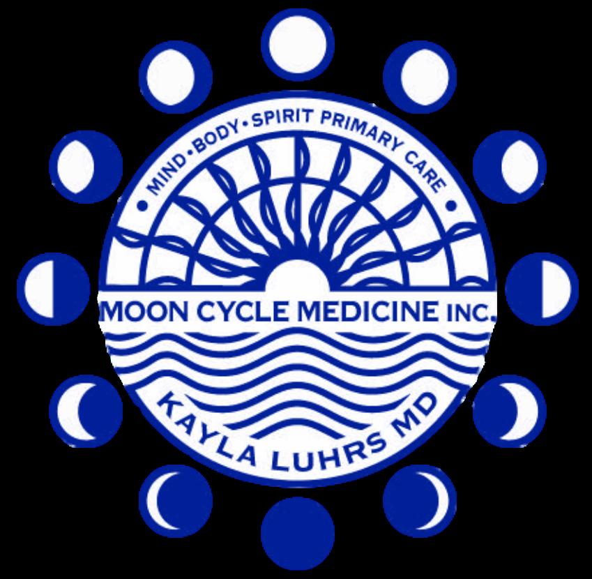 Moon Cycle Medicine, logo, Dr. Kayla