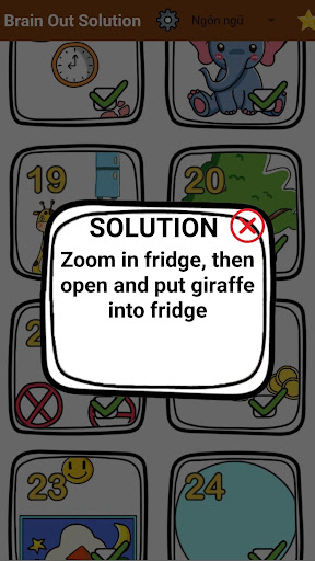 Brain Out Solution apkslow screenshots 3
