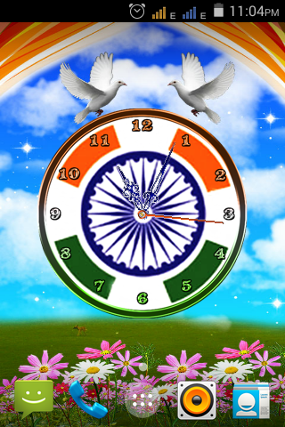 Independence Day Clock