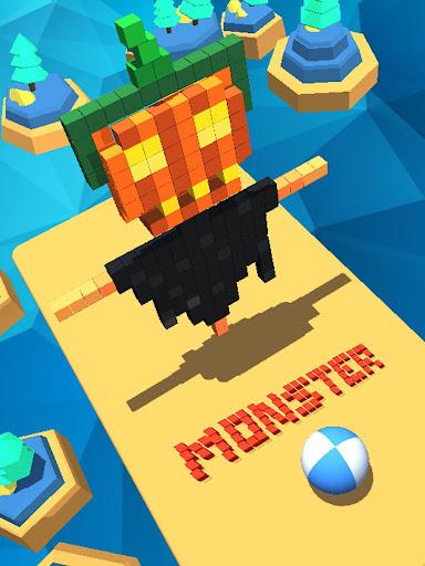 Monster Vs Ball 3D 12.13 screenshots 1