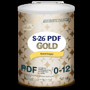 Fórmula Infantil S26 PDF   GOLD Prematuros-12 Meses x400g
