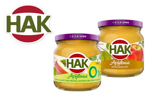 Bild für Cashback-Angebot: HAK Apfelmus - Hak