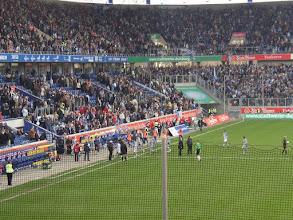 Photo: Eindstand: MSV Duisburg - FC Schalke'04 1-1