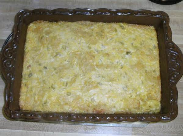 Green Chili Casserole Recipe