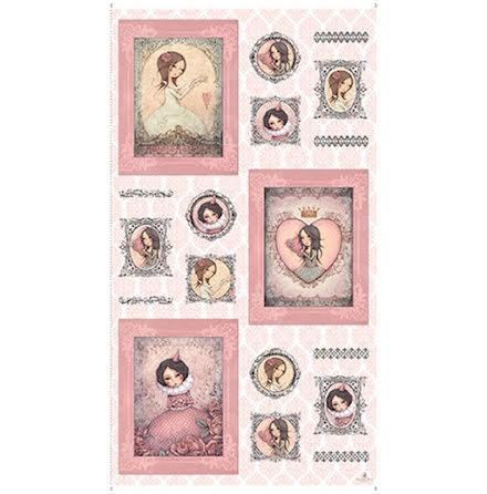 Mirabelle, All For Love, panel, rosa (10904)
