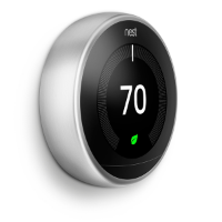 nest thermostat 3rd gen steel