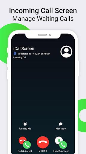 iCallScreen - OS14 Phone X Dialer Call Screen 1.3.7 screenshots 3