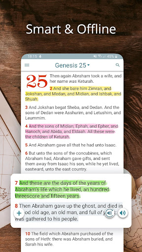Bible KJV with Apocrypha, Enoch, Jasher, Jubilees 5.7.1 screenshots 1