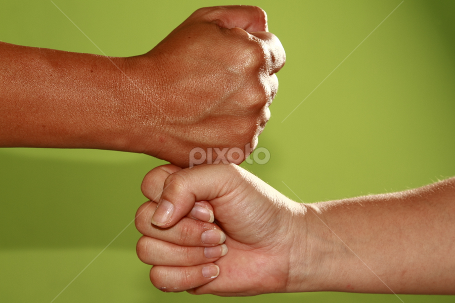 Fury Handshake by BRYON PHILIP - People Body Parts ( sign, hand, body, pwchandshake, fury, fight, fist, finger, language, part, handshake )