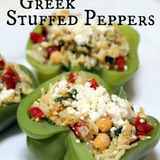 Greek Stuffed Peppers.