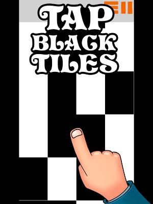 Tap Black Tiles - screenshot