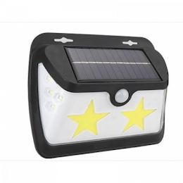 Lampa solara LF-1573B Star, cu senzor de miscare si lumina