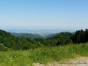 Photo: Aussicht in die Rheinebene.