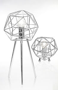 Globen Lighting Diamond Bordslampa Krom - lavanille.com