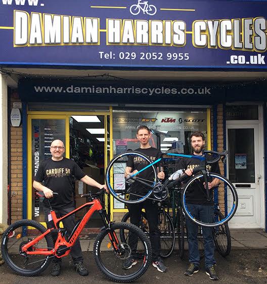Damian Harris Cycles 1st Prizes