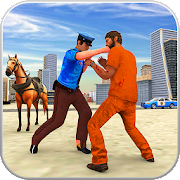 Horse Police crime simulator: Miami crime city war