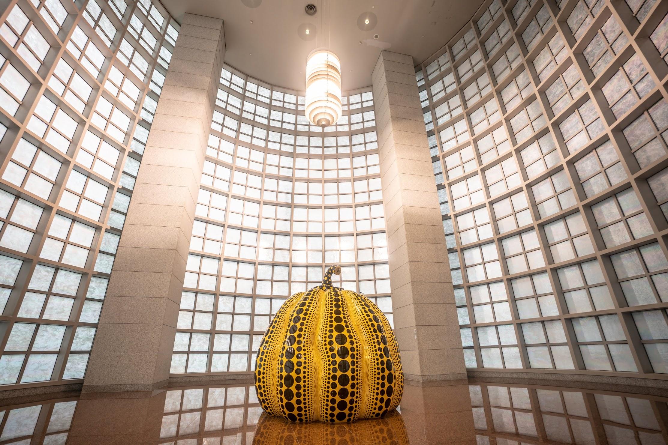 Singapore Yayoi Kusama Yellow Pumpkin