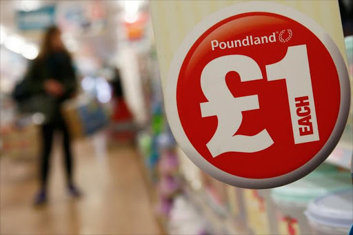 A Poundland store in London, Britain. Picture: REUTERS
