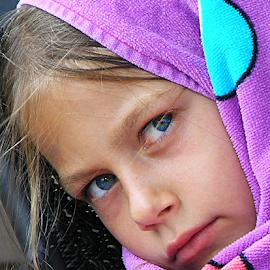 Portrait of my granddaughter by Joe Saladino - Babies & Children Child Portraits ( girl, family, portrait, granddaughter )