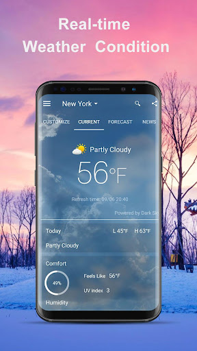 Weather Forecast : live weather and forecast screenshot for Android
