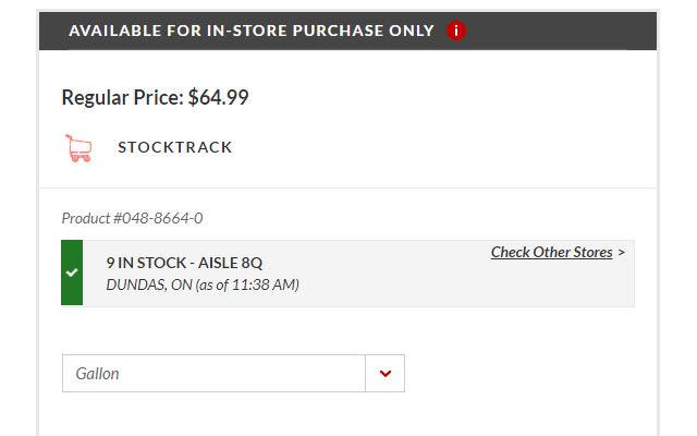 StockTrack.ca plugin