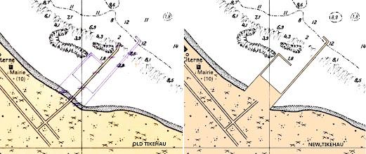 Photo: Tikehau - French Polynesia and New Caledonia Raster Chart Update - http://www.maxsea.com/products/charts/list/oceania/raster/wide/mapmedia/french_polynesia_new_caledonia