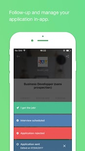 JobTeaser- screenshot thumbnail