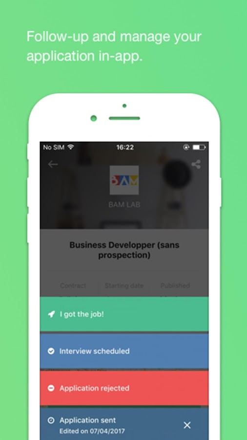 JobTeaser- screenshot