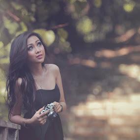 Viyna by Havidz Zhurrahman - People Fashion ( fashion, woman, summer, forest, beauty )