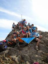 Photo: R/nG al Puig Gros (168m). Durant la travessa de Setmana Santa al Cap de Creus.
