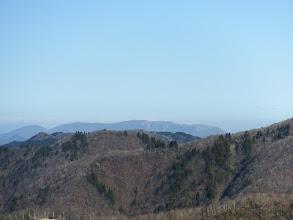 遠くに御池岳