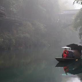 Scenic Longjin Creek by Sunny Zheng - Landscapes Travel
