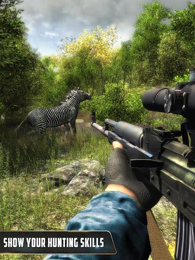 Animal Hunter : Jungle Sniper Shooting apktram screenshots 3