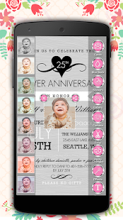 Download Anniversary Invitation Card Maker For PC Windows and Mac apk screenshot 4