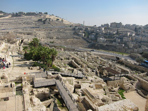 Photo: Mount of Olives and Archeological Park