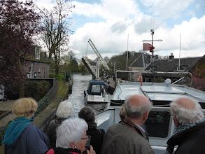 Photo: 16 maart 2016 CReO Loosdrecht Zuylen, bij de Mijndense Sluis, uitvaren naar de Vecht