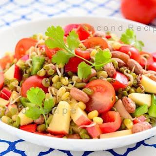 Bean Sprout Salad Cilantro Recipes